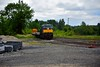 The relay train is stabled at the Ballybrophy end of the yard before being split. Wed 03.06.20