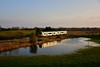 2807 + 2808 pass a partially flooded field at Kylenaheskeragh with the 1655 Limerick - Ballybrophy. <br /> <br /> Rail services on this route and between Limerick Jct. - Waterford will be suspended from Monday 30th March 2020 until further notice due to the introduction of the COVID19 emergency timetable. Fri 27.03.20