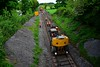 Offloading the rails at Rathnaleen. Tues 19.05.20