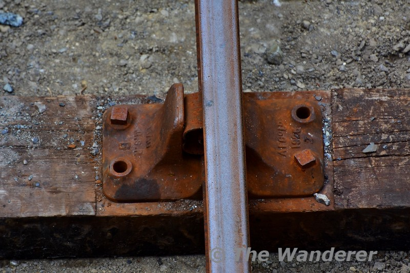 The track to be replaced has components dating from GSR days in 1926. Tues 19.05.20