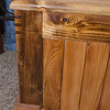 Blanket Chest: Birch frame, Cedar Slats, Cedar Splines