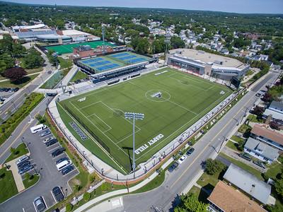 Athletics Fields Aerial June 2018 Chapey Field at Anderson Stadium