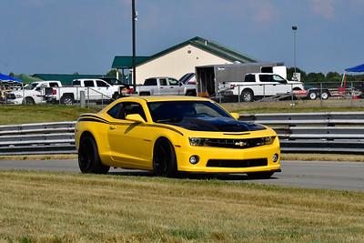 2020 July Pitt Race TNiA Adv Yellow Camaro