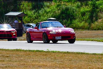 2020 July Pitt Race TNiA Interm Red Miata Conv
