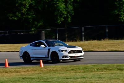 2020 July Pitt Race TNiA Interm White Mustang
