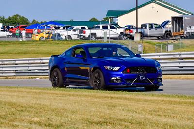 2020 July Pitt Race TNiA Blu Mustang
