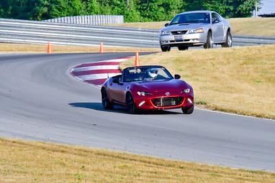2020 July Pitt Race TNiA Red Miata