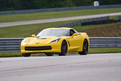 2020 SCCA TNiA Pitt Race Sept2 Adv Yellow Vette