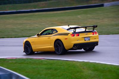 2020 SCCA TNiA Pitt Race Sept2 Int Yellow Camaro Wing
