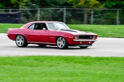 2020 SCCA TNiA Sep30 Pitt Race Red Camaro Vintage