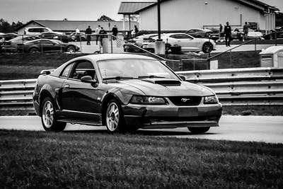 2020 SCCA TNiA Sept 30 Pitt Race Int Green Mustang
