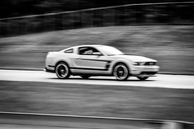 2020 SCCA TNiA Sept 30 Pitt Race Int Orange Boss Mustang