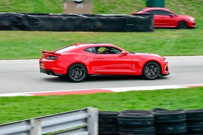 2020 SCCA TNiA Sept 30 Pitt Race Red Camaro Wing