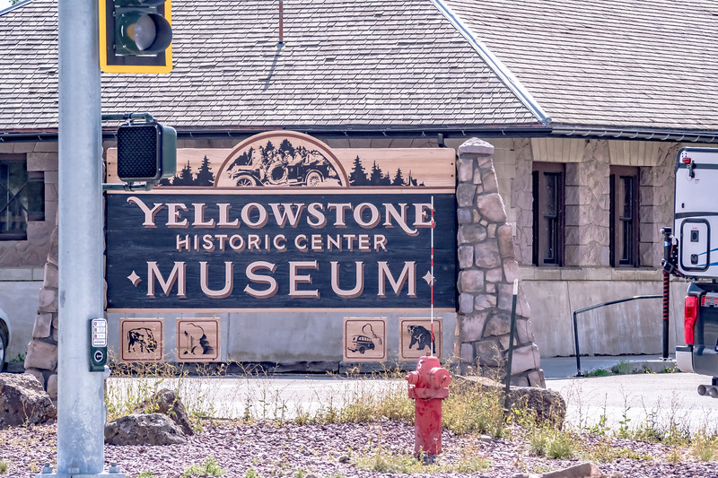West Yellowstone - A small town on the edge of the Yellowstone National Park, Montana.