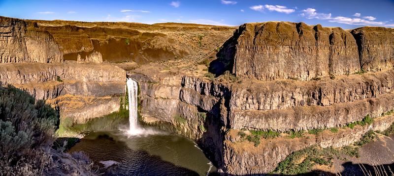 palouse falls state park water falls in washington