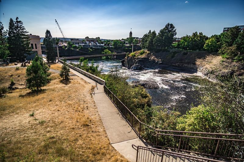 spokane washington downtown and street scenes