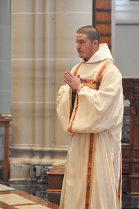 Mass of Ordination to the Priesthood and the Diaconate The Most Reverend Edward C. Malesic, J.C.L. Bishop of Greensburg Ordaining Bishop Reverend Ignatius Camello, O.S.B. Reverend Brother Cassian Edwards, O.S.B. May 23, 2020 Saint Vincent Archabbey Basilica Latrobe, Pennsylvania