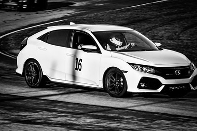 2020 OVR MO Track Day White Honda Civic 16