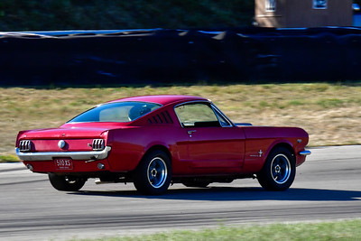2020 SCCA TNiA Aug19 Red Mustang Vintage