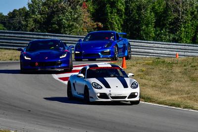 2020 SCCA TNiA Aug19 White Porsche Stripes