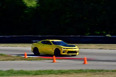 2020 SCCA TNiA Aug19 Yellow Camaro G2 Wing