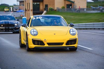 2020 SCCA TNiA Pitt Race Sept2 Int Yellow Porsche 911