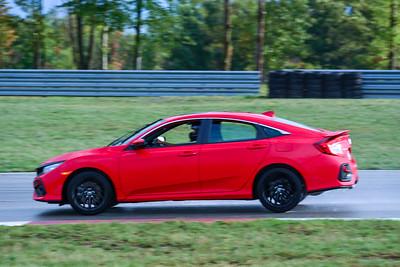 2020 SCCA TNiA Sept2 Pitt Race Nov Red Civic