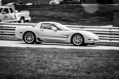 2020 SCCA TNiA Sep30 Pitt Race Yellow Vette Fire