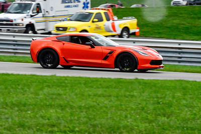 2020 SCCA TNiA Sep30 Pitt Race Orange Vette Spoiler