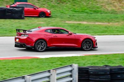 2020 SCCA TNiA Sept 30 Pitt Race Int Burgandy Camaro Wing