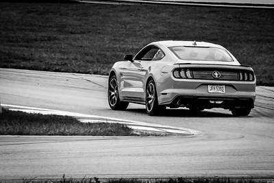 2020 SCCA TNiA Sept 30 Pitt Race Int Green Lime Mustang