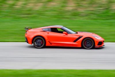 2020 SCCA TNiA Sept 30 Pitt Race Int Orange Vette Wing