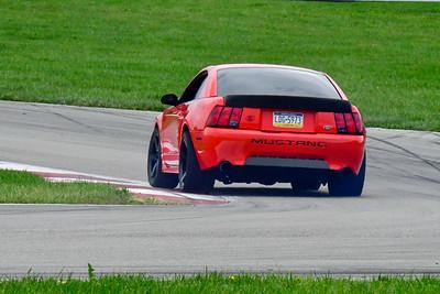 2020 SCCA TNiA Sept 30 Pitt Race Int Red Blk Mustang