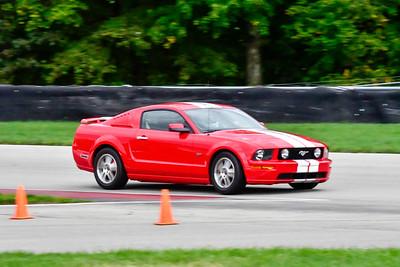 2020 SCCA TNiA Sept 30 Pitt Race Int Red Mustang