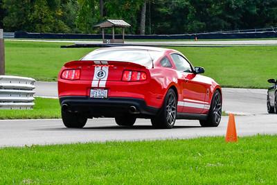 2020 SCCA TNiA Sept 30 Pitt Race Red Shelby