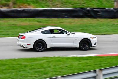 2020 SCCA TNiA Sept 30 Pitt Race White Mustang