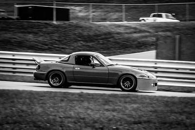 2020 SCCA TNiA Sept 30 Pitt Race Red Miata Spoiler