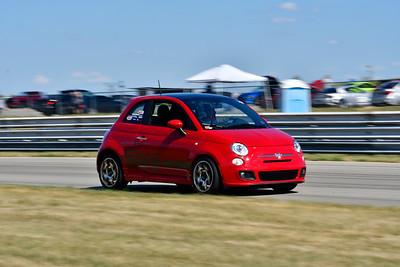 2020 SCCA TNiA July 29 Pitt Race Adv Red Fiat