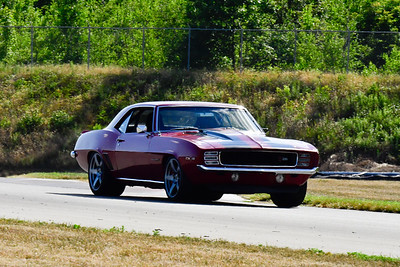 2020 SCCA TNiA July 29 Pitt Race Adv Red Vintage Camaro