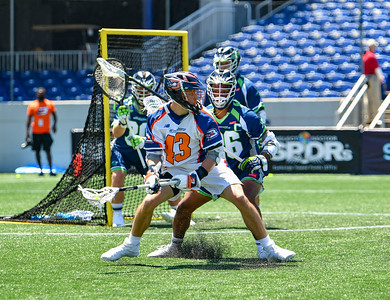 July 18, 2020 Annapolis, MD - Navy-Marine Corps Memorial Stadium Philadelphia Barrage vs Chesapeake Bayhawks. Photography Credit: Alex McIntyre