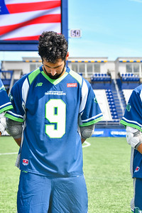 July 24, 2020 Annapolis, MD Navy-Marine Corps Memorial Stadium Connecticut Hammerheads vs Chesapeake Bayhawks. Photography Credit: Alex McIntyre