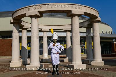 Drum Major Walter Aguilar