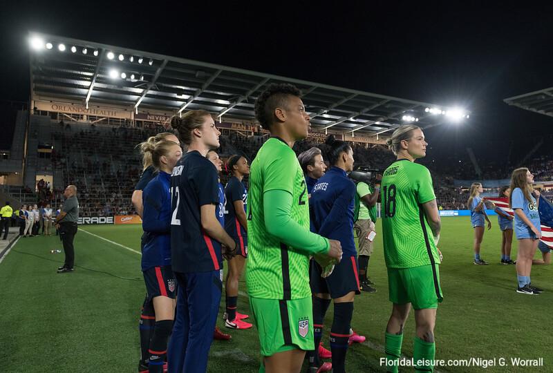 USA 2 England 0, SheBeilieves Cup, Exploria Stadium, Orlando, Florida - 5th March 2020 (Photographer: Nigel G Worrall)