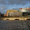 Theatre Severn and the Welsh ridge, Shrewsbury 4pm. 17-2-20.
