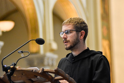 On Friday July 10, 2020, Brother Francisco Whittaker, O.S.B. made his first profession of vows. Brother Gilbert Heater, O.S.B., Brother Anselm Zhang, O.S.B., Brother Andrew Kim, O.S.B., Father Augustine Yang, O.S.B., Brother Sean Cooksey, O.S.B., Brother Xavier Timothy O'Mara, O.S.B., Brother Angelo Kurt Lichtenstein, O.S.B., and Brother Gregory Visca, O.S.B. all renewed their vows.