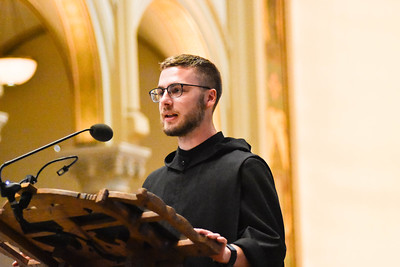 On Saturday July 11, 2020, Brother Placid Sellers, O.S.B. made his solemn vows.