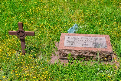 Texas Ranger- Henry F Manning-2625