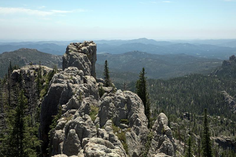 On the trail up Black Elk Peak (SD)