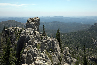 On the trail up Black Elk Peak (SD)