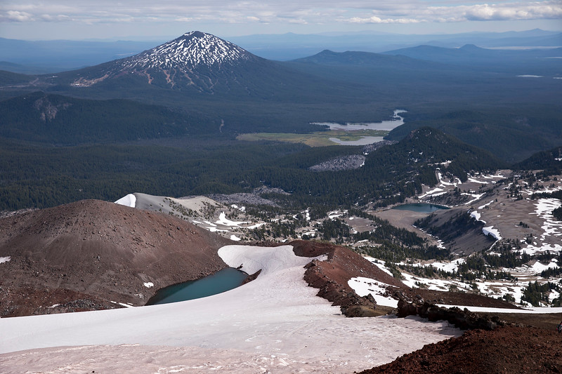 View from South Sister (OR)